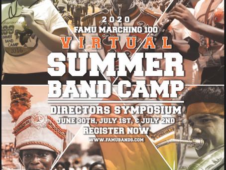 FAMU Virtual Summer Band Camp 2020