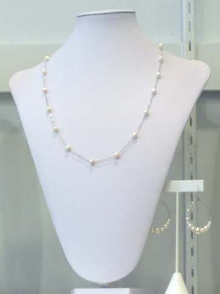 Fresh Water Pearl Necklace #10598