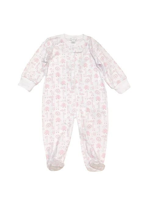 Kissy Kissy Jungle Pink Footie
