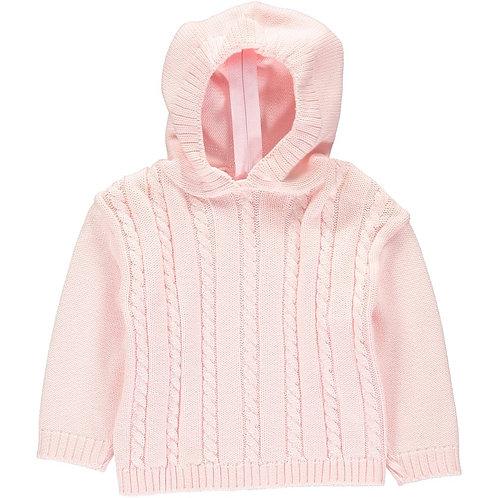 Cotton Zip Back Sweater