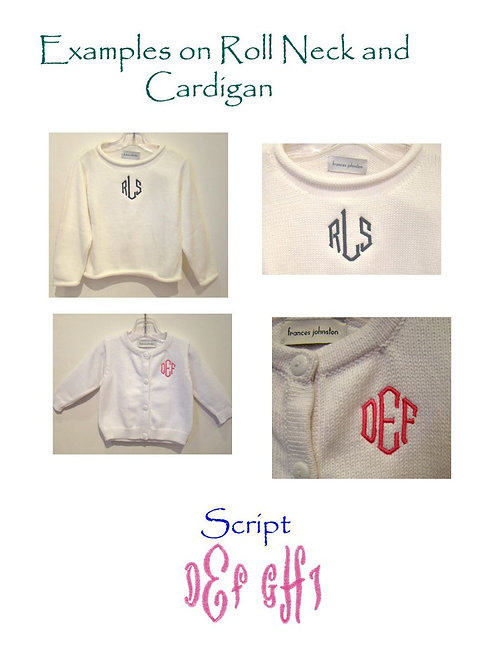 Sweater Monogram