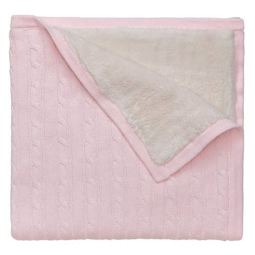 Infant Blankets, Pink and Blue Available, Click on View