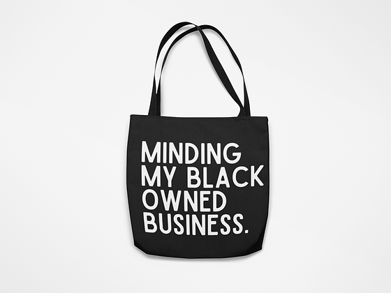 Black Owned Business Tote