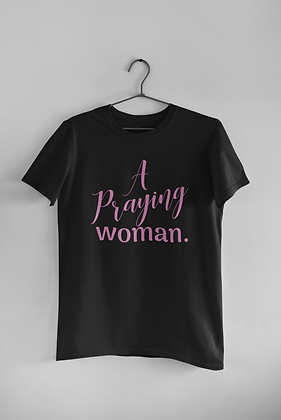 A Praying Woman.
