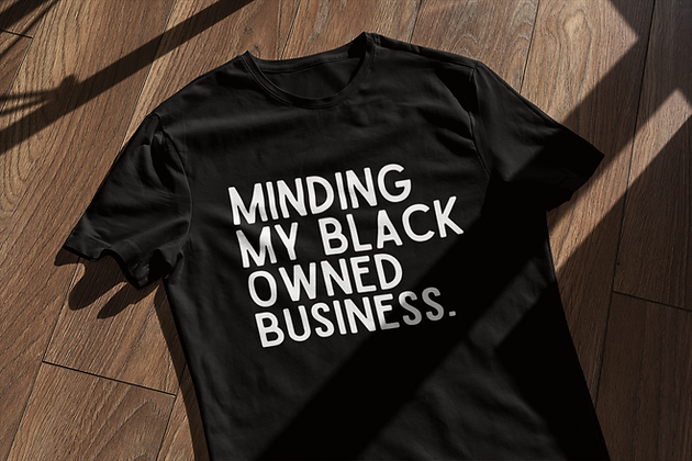 Black Owned Business (2 colors)