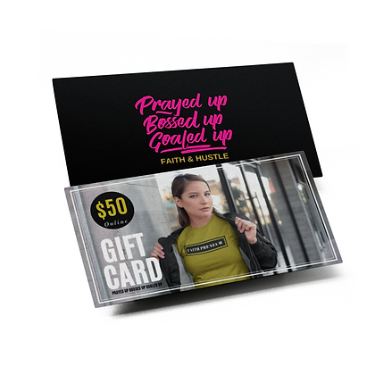 GIFT CARDS ($50, $75, $100)