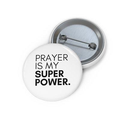 Prayer is my super power button