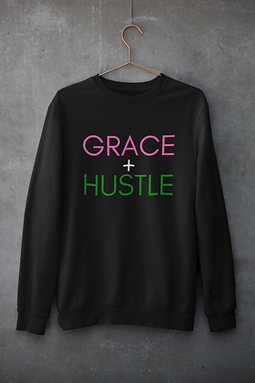 Grace + Hustle (Pink/Green)