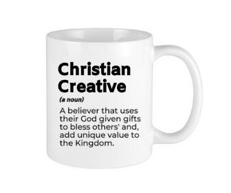 Christian Creative White Mug
