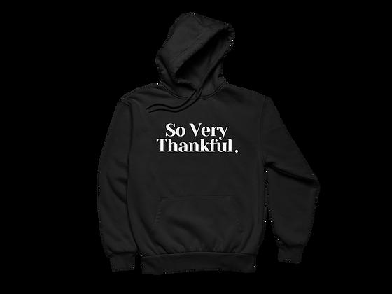 Thankful Hoodie Black