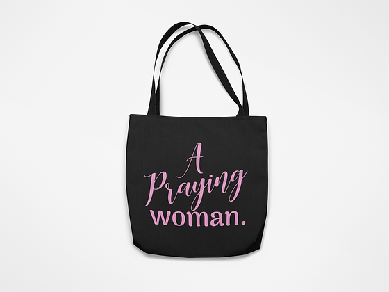 A Praying Woman Tote
