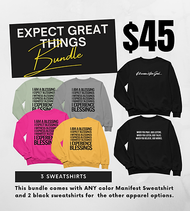 Expect Great Things Bundle