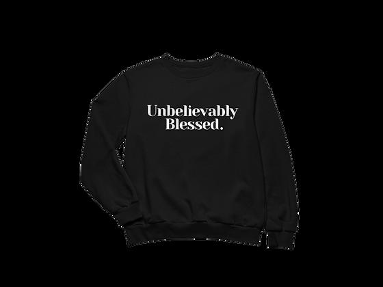 Blessed Sweatshirt Black