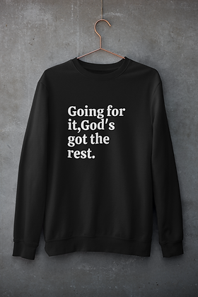 Going for it Sweatshirt ( 2 colors)