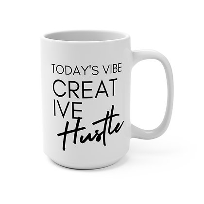 CREATIVE Hustle 15 oz Mug