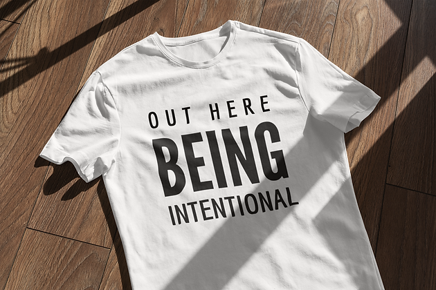 Intentional (5 colors)