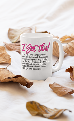 I Got this! White Mug