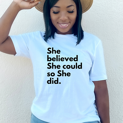 She Did. Super Powers (2 colors)