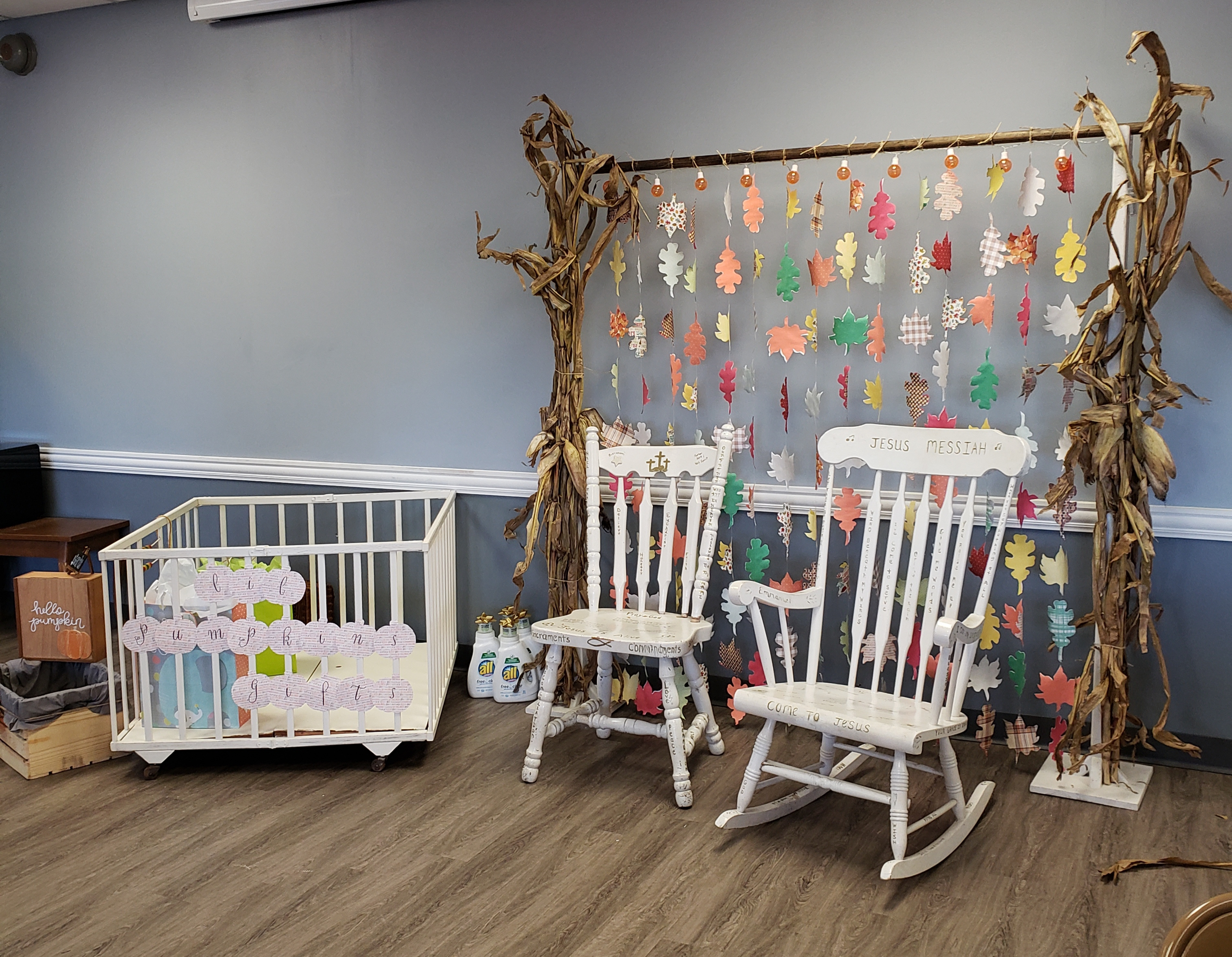 Baby Shower Gift Area