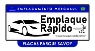Emplaque Rápido Parque Savoy - Logo Uni