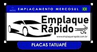 Emplaque Rápido Tatuapé - Logo Unidade.p
