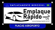 Emplaque Rápido Aeroporto - Logo Unidade