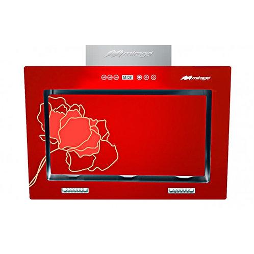 Campana Serie Velox 90 ristala Templado Rojo