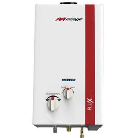 Boiler Serie Flux  6L/min, Cero Presión de Agua, Rojo