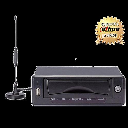 DVR MOVIL 4 CANALES DE VIDEO/ H264/ 120FPS/ TRANSMISION POR RED/ SISTEMA DE GPS/