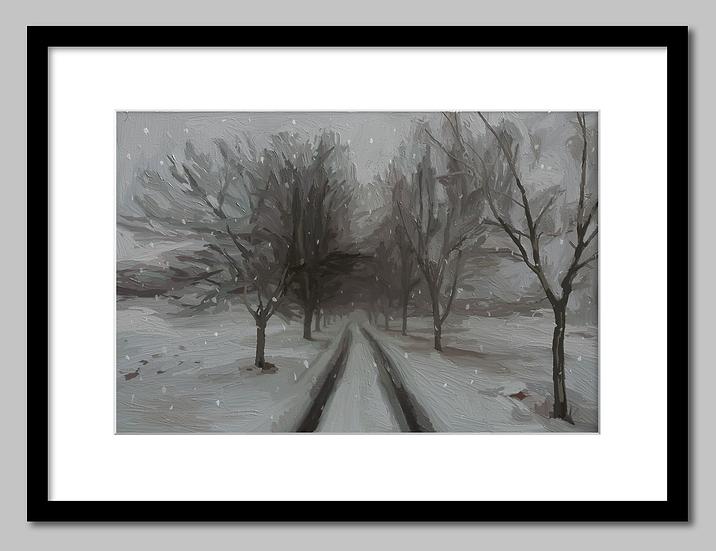 """Winter Way"" Print"