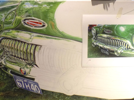 In Progress...BIG GREEN MACHINE!