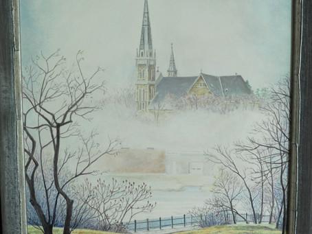"""""""Foggy Morning, Arnprior"""""""