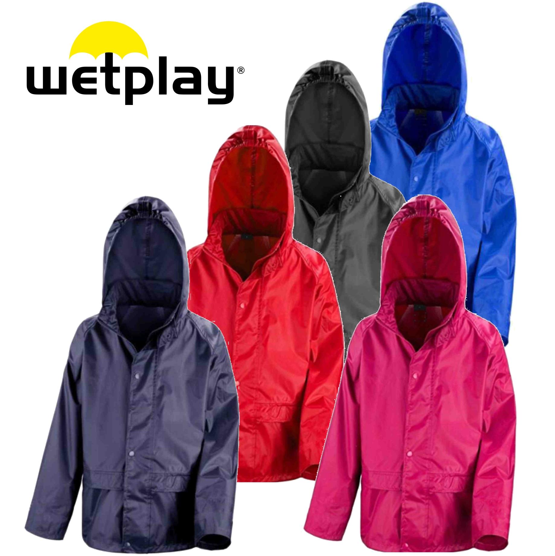 Wetplay Waterproof Jacket - £8.95