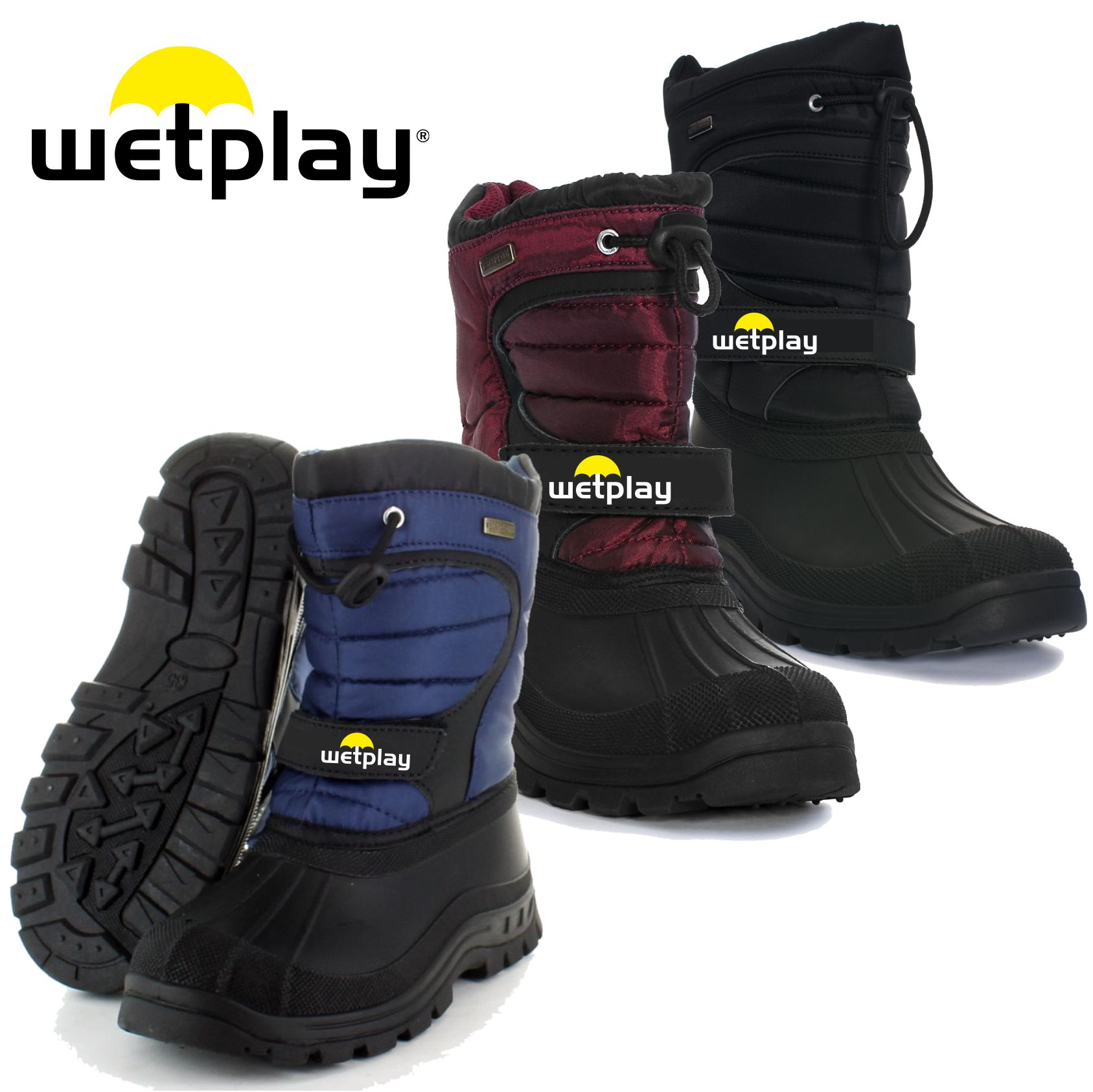 Wetplay Snow Boots - £19.95