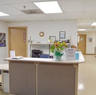 Health Center Reception