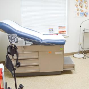 Health Center Patient Room