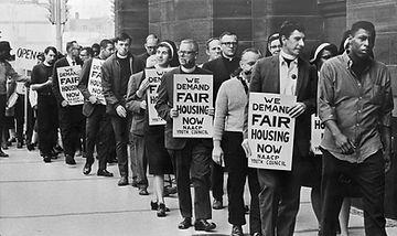 Fair Housing march in 1965