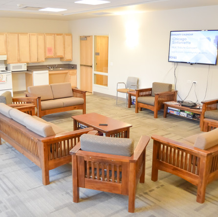 Community room at Myers Place