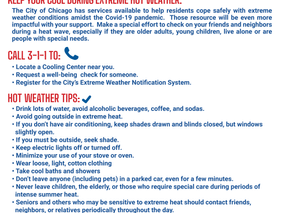 Beat the Heat! Cooling Centers