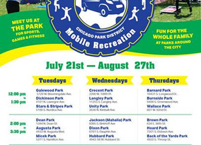 Rollin Rec is Headed to a Park Near You This Summer!