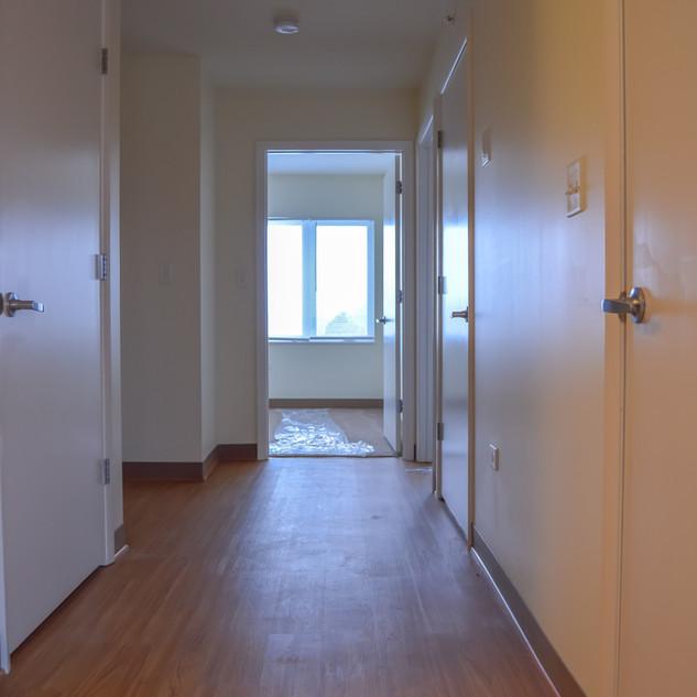 Third Floor Hallway w/ Elevator