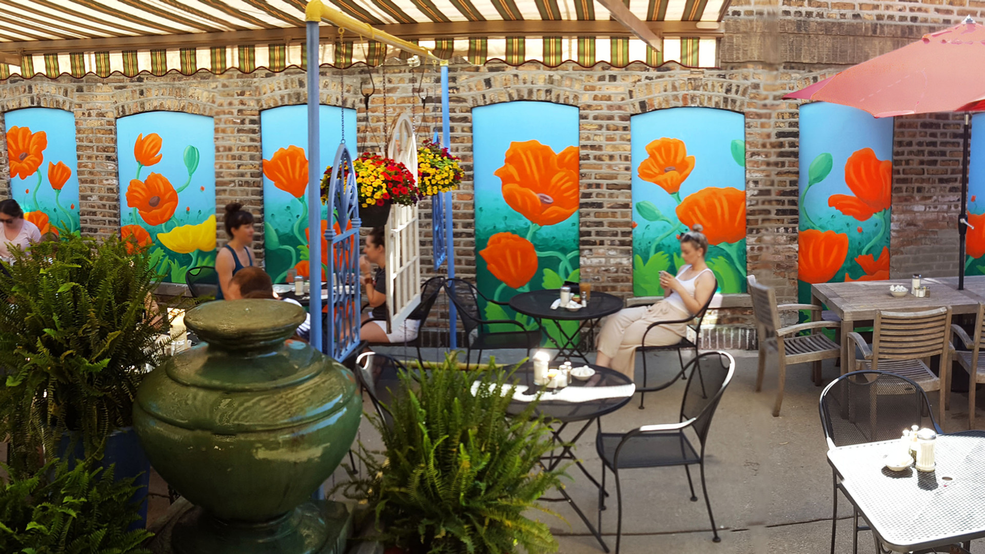 our outdoor patio