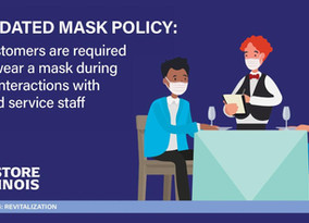 Statewide Mask Mandate for Dining Update
