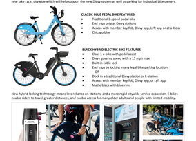 DIVVY Now Included E-Bikes