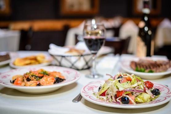 Mirabella Salad & Tagliolini