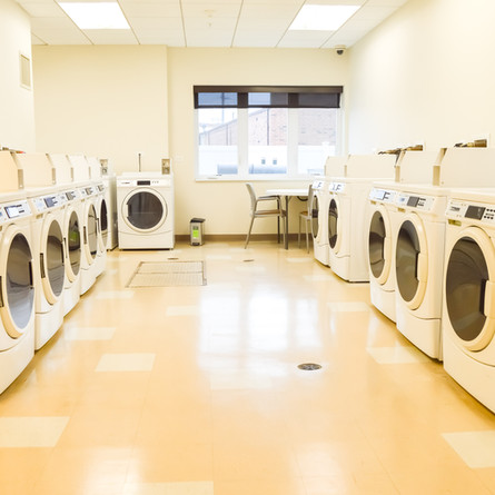 Laundry facility at Myers Place