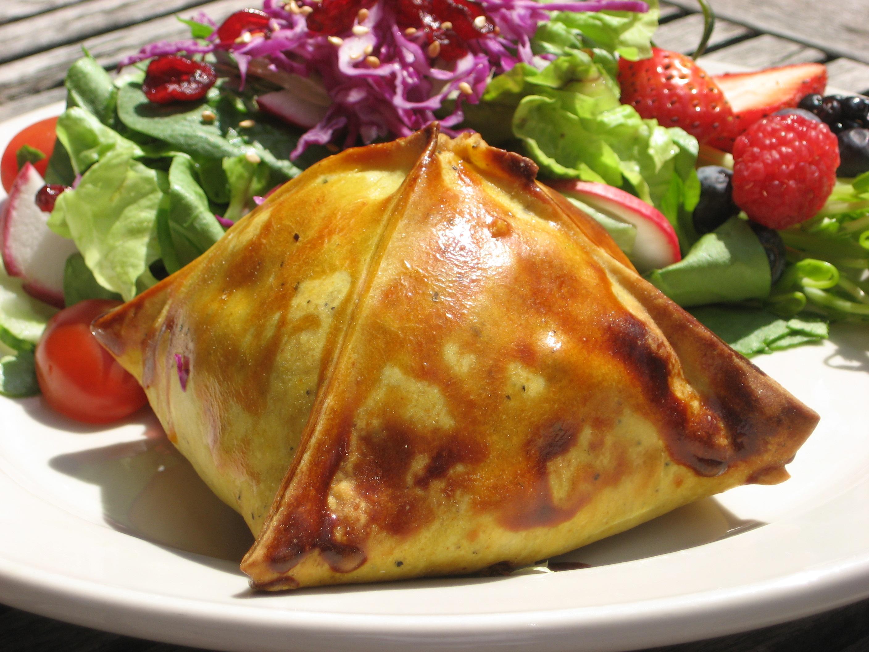 m.henry's jerk chicken empanada