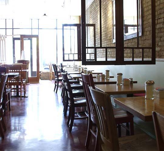 cafe dining room