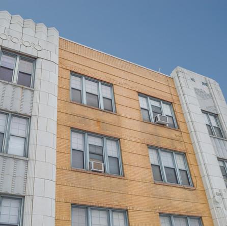 Exterior of Rebecca Walker Apartments