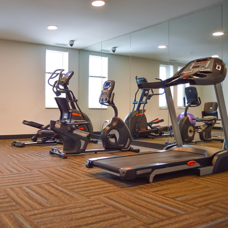 Fitness room at Philhaven